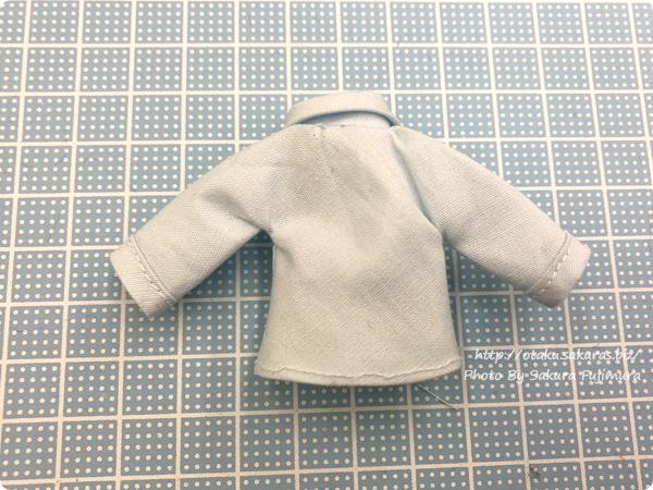 「ミシンで作るオビツ11サイズシャツ」ワークショップ 完成 裏