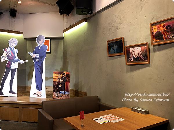 文豪ストレイドッグス DEAD APPLE×明神カフェのコラボカフェ 店内その2