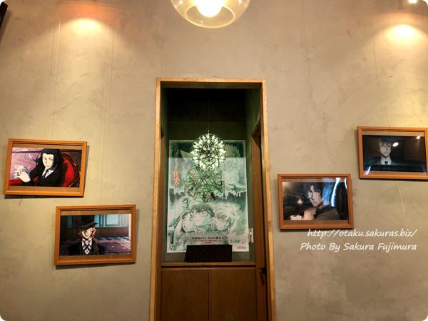 文豪ストレイドッグス DEAD APPLE×明神カフェのコラボカフェ 店内その4