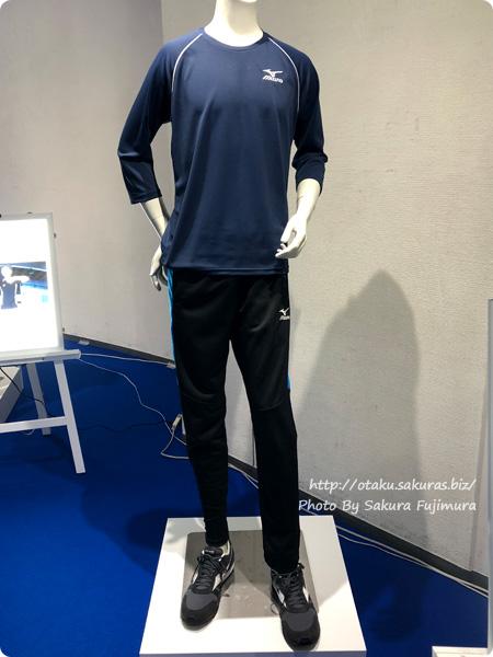 「ミズノ・ユーリ!!! on ICE コラボレーション展示イベント」東京会場 Tシャツ/スウェットパンツ(勝生勇利モデル)