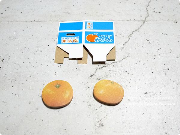 100円ショップCan☆Do(キャンドゥ)「箱つき付箋みかん」中身全体