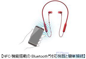 """パイオニアブランドのBluetooth®対応ワイヤレスインナーイヤーヘッドホン""""C7wireless""""(シーセブンワイヤレス)「SE-C7BT」 無線のイヤホン"""