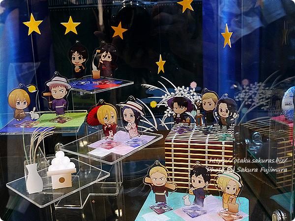 アニメイトカフェ×進撃の巨人 Season3コラボカフェ トレーディングアクリルスタンドキーホルダー(グループA・グループB)