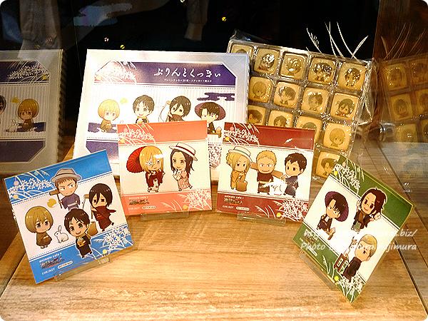 アニメイトカフェ×進撃の巨人 Season3コラボカフェ プリントクッキー