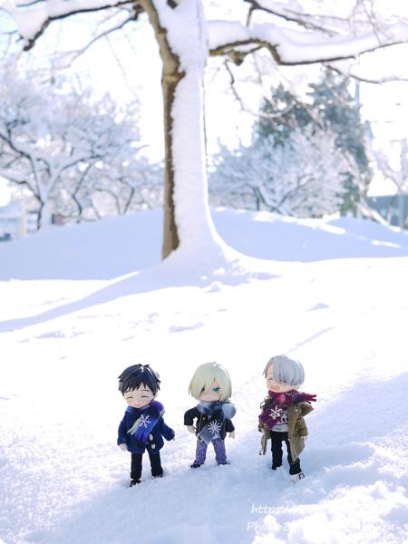 2018年1月22日関東に雪が降った YOIオビツろいど