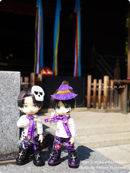 2018年10月17日赤羽八幡神社にて 進撃オビツろいど