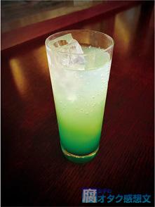 """映画『PSYCHO-PASS サイコパス Sinners of the System』コラボカフェ """"GINO THE CAFE"""" 須郷のメロンボール 750円"""