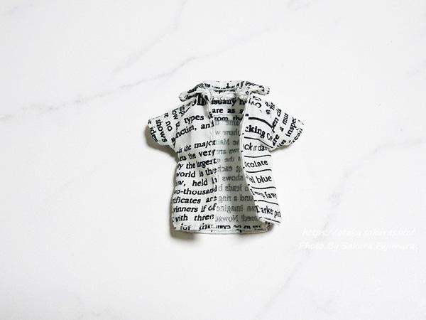 グラフィック社「はじめての1/12スケールのお洋服づくり」半袖シャツE 正面