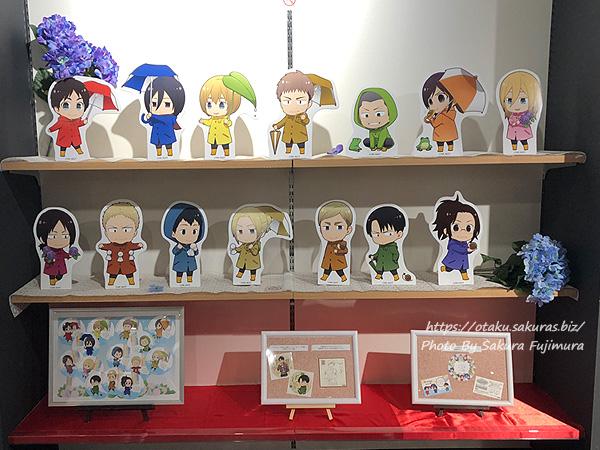 進撃の巨人Season 3 Part.2×アニメイトカフェ池袋2号店コラボカフェ 店内の様子その4
