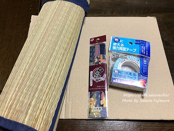 【ミニチュア畳作り】ミニチュア・ドールハウス・背景ボード用畳の材料
