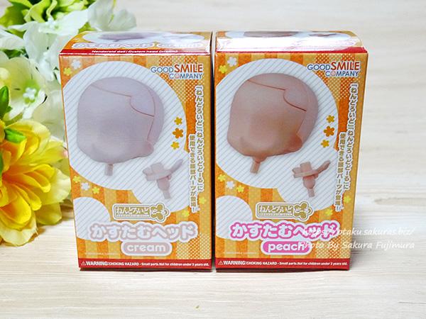ねんどろいどどーる かすたむヘッドパッケージ(表) peachとcream