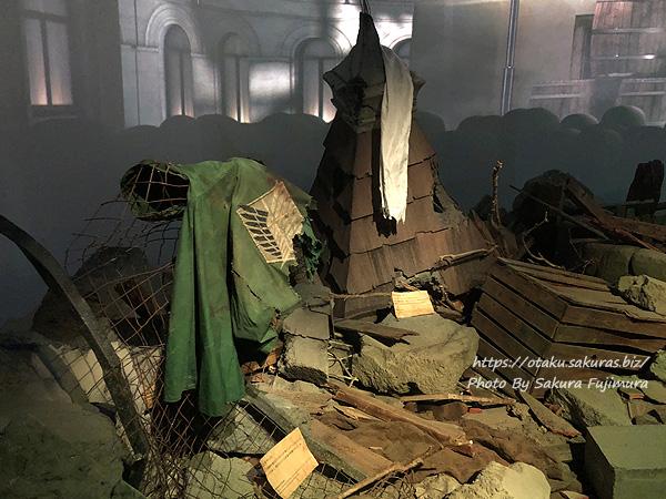 「進撃の巨人展FINAL」前期日程兵士のマントと兵士のスカーフ