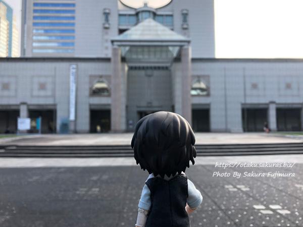 文豪ストレイドッグスロケ地・横浜聖地巡礼 横浜美術館  文ストオビツろいど記念撮影