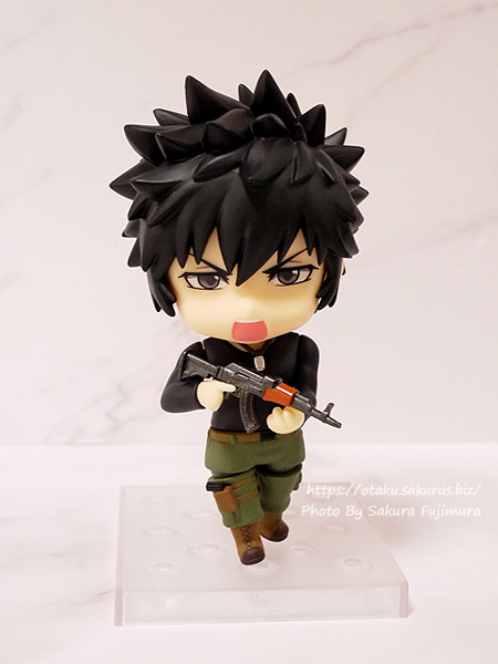 PSYCHO-PASS サイコパス Sinners of the System「ねんどろいど 狡噛慎也 SS Ver.」叫び顔 その1