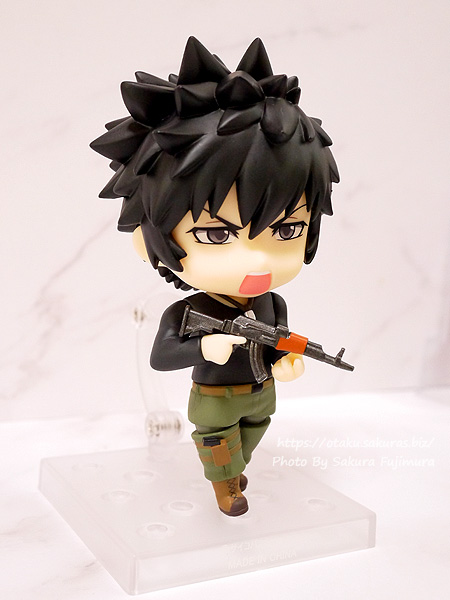 PSYCHO-PASS サイコパス Sinners of the System「ねんどろいど 狡噛慎也 SS Ver.」叫び顔 その2