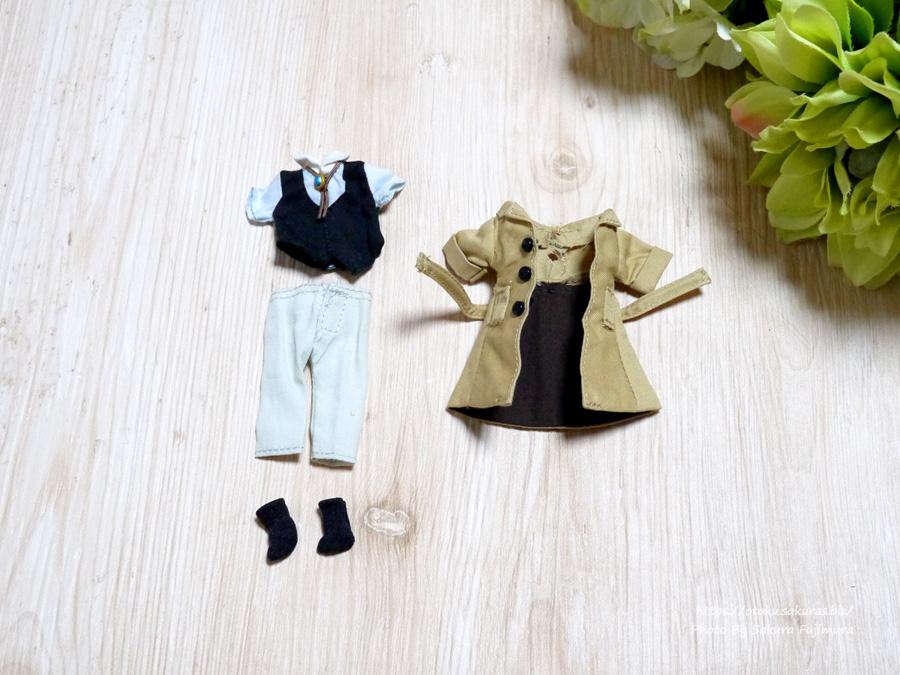 文豪ストレイドッグス「ねんどろいどどーる太宰治」おようふくセットの服