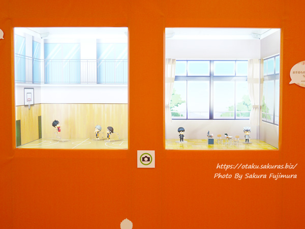 松坂屋上野店「オランジュ・ルージュ5周年展」ハイキュー!ねんどろいどと撮影できるスポット