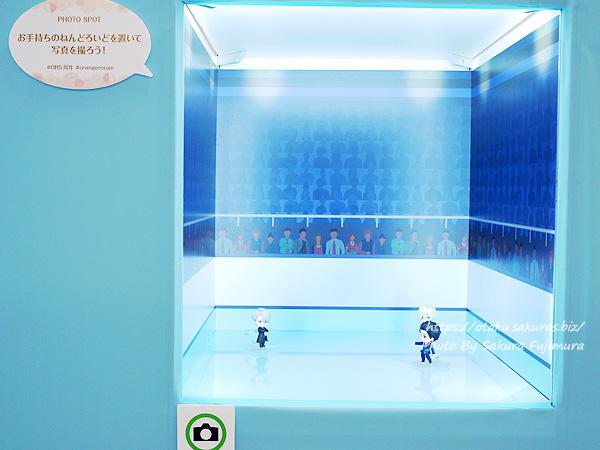 松坂屋上野店「オランジュ・ルージュ5周年展」ユーリ! ! ! on ICE 記念撮影スポット