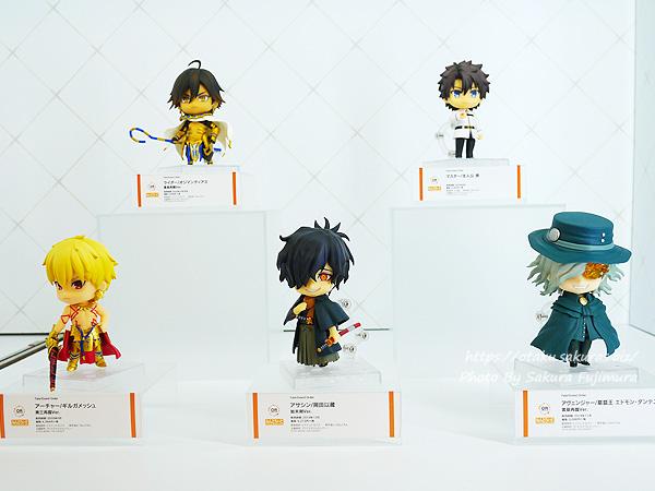 松坂屋上野店「オランジュ・ルージュ5周年展」スマホゲーム『Fate/Grand Order』ねんどろいど各種