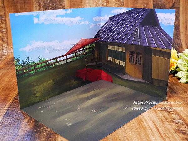 【100均キャンドゥ】No.33797 02ウッドクラフト モダニズム 背景ボード 茶屋全体
