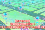 【ポケモンGO】 秋葉原は桜吹雪だらけ!ポケストップ大量&ポケモンゲットし放題(東京)